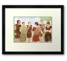 Alma the Younger's story Framed Print