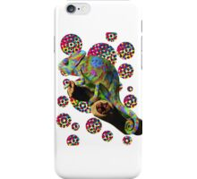 Psychedelic chameleon iPhone Case/Skin