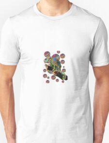Psychedelic chameleon Unisex T-Shirt