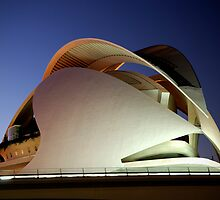 Palau De Les Arts, at blue hour - CAC by Valfoto