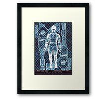 BODY SCAM RAYGUN Framed Print