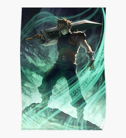 FFVII-Judgement Day Poster