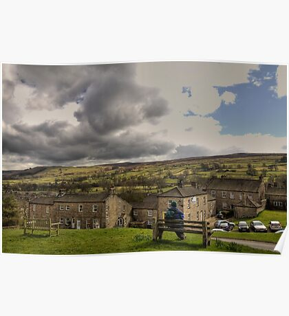 Reeth - North Yorkshire Poster