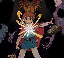 Oliver and the Dark Djinn by Luna3391