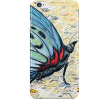 Butterfly In Blue iPhone Case/Skin