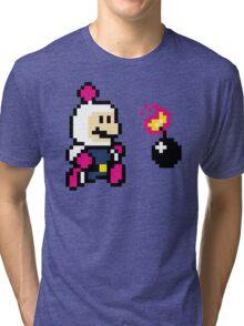 BomberMario Tri-blend T-Shirt