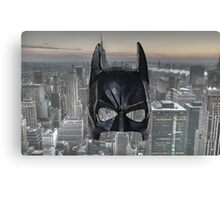 Batman Low Poly Canvas Print