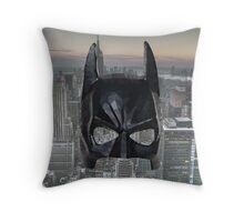 Batman Low Poly Throw Pillow