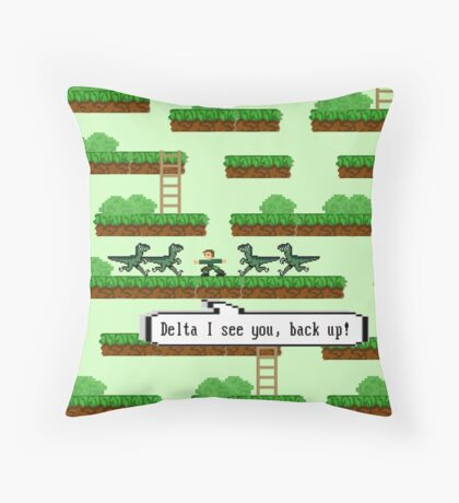 Delta i see you! Throw Pillow