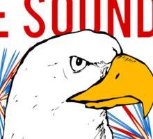 My Freedom America Guns Bald Eagles Fireworks Sticker