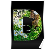 D is for daisy Poster