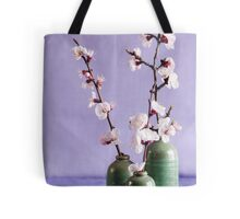 Blossoms and vases Tote Bag