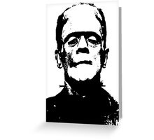 Frankenstein (1931) Greeting Card