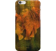 Moods Of Africa - Rhinos iPhone Case/Skin