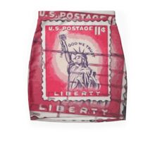 Stamp of Liberty Mini Skirt