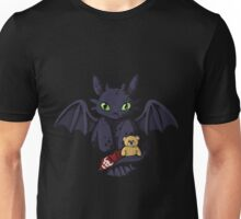 Night Furry and Teddy Unisex T-Shirt