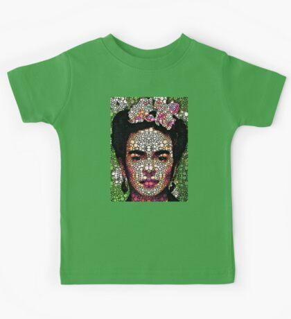 Frida Kahlo Art - Define Beauty Kids Tee
