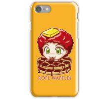 ROFL WAFFLES iPhone Case/Skin