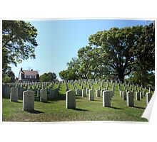 Wilmington National Cemetery Poster
