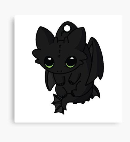 Night Furry cute Canvas Print