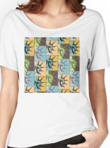 Liberty USA Women's Relaxed Fit T-Shirt