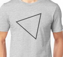 tilted triangle Unisex T-Shirt