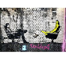 Banana - Banksy Photographic Print
