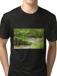Unami Creek - Green Lane - Pennsylvania - USA Tri-blend T-Shirt