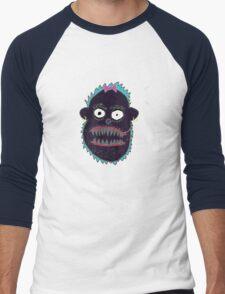 Boris the Monkey Men's Baseball ¾ T-Shirt
