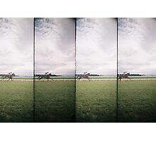Day at the Races 2 Photographic Print