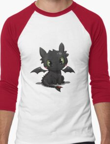 Toothless 2 Men's Baseball ¾ T-Shirt
