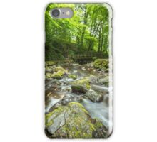Bridge at Glenoe Waterfall iPhone Case/Skin