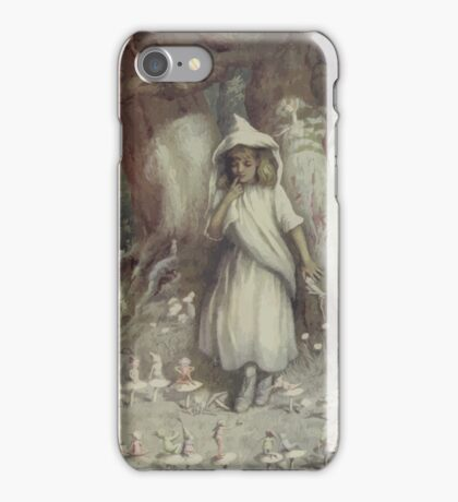 Kate Greenaway Collection 1905 0117 The Elf Ring iPhone Case/Skin