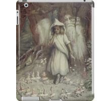 Kate Greenaway Collection 1905 0117 The Elf Ring iPad Case/Skin