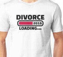 Divorce 2015 Unisex T-Shirt