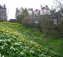Ramsay Garden in Spring by Yonmei