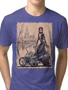 MORTICIA in a T-Bucket Tri-blend T-Shirt