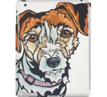 Dog Art #24: Penny the Jack Russell Terrier iPad Case/Skin