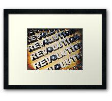 Patriotic American Revolution Framed Print