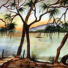Sunset Sail  by Linda Callaghan