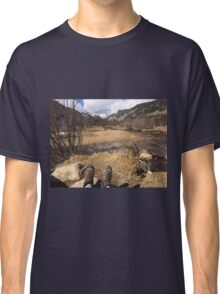 Hiking the Rockies  Classic T-Shirt