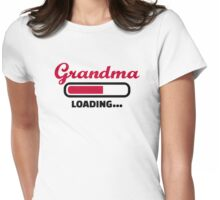 Grandma loading Womens Fitted T-Shirt