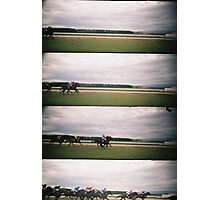 Day at the Races 3 Photographic Print