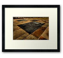 Not Forgotten  Framed Print