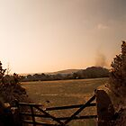 Outback burns - View near in St Day in Cornwall by Photoplex