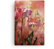 Tulips - Colors Of Love Canvas Print