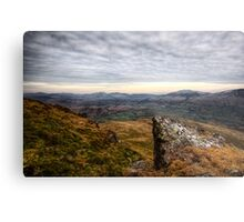 Towards Keswick Metal Print