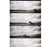 Day at the Races 4 Photographic Print