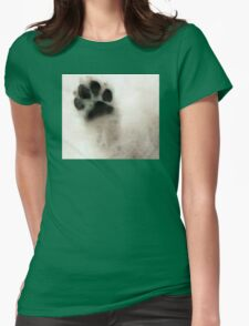 Dog Art - I Paw You Womens Fitted T-Shirt