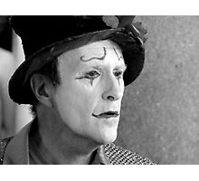 Clown  Photographic Print